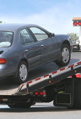 Car Being Towed