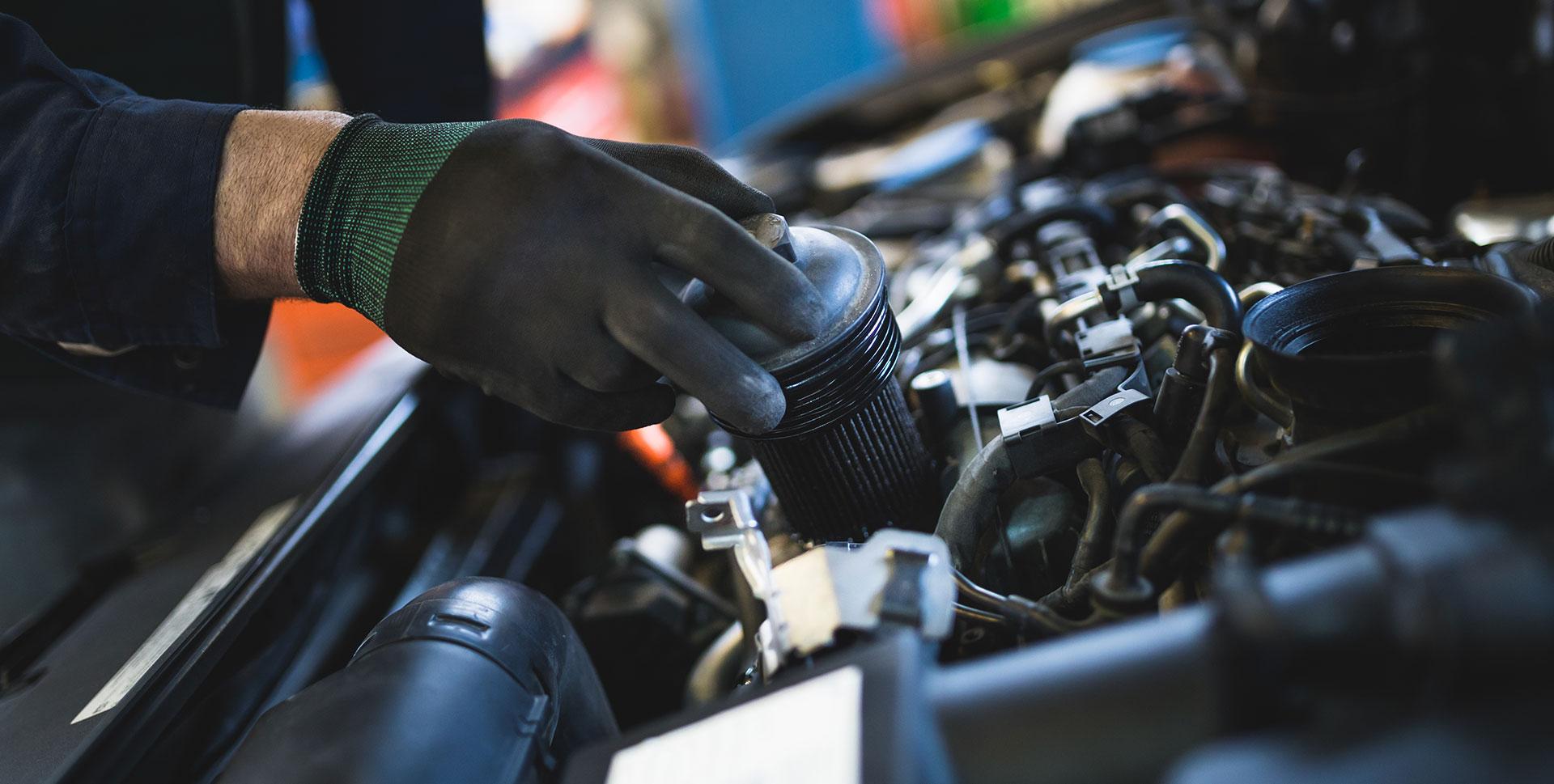 Car Engine Checking